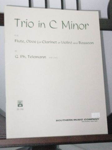 Telemann G P - Trio in C Minor